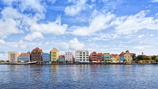 Travels to Willemstad in Curacao